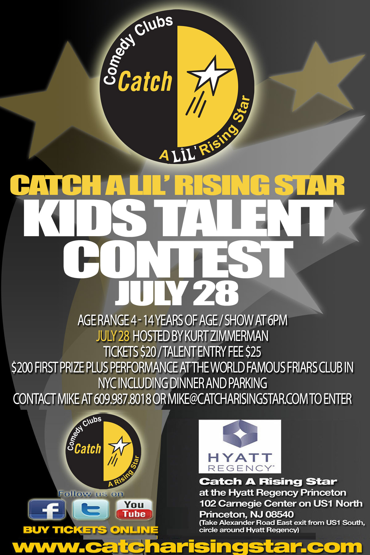 Catch A Lil' Rising Star Talent Competition