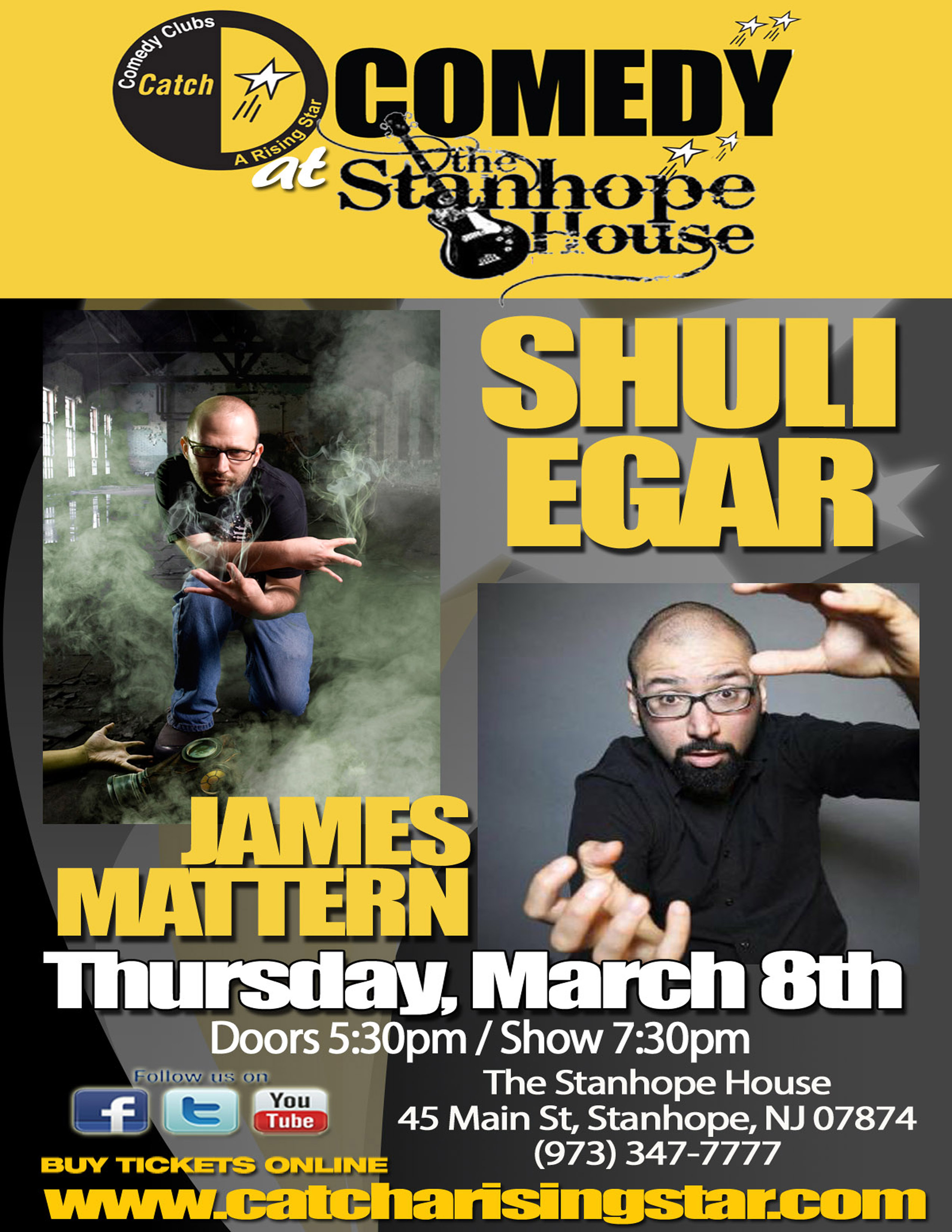 Shuli Egar and James Mattern at The Stanhope House